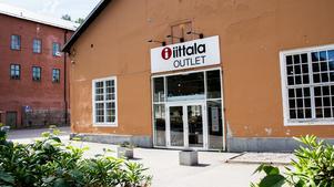 Iittala Outlet ligger på samma område som messingsbruket i Skultuna.