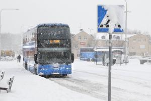 Busschaufförer har makt. Foto: TT