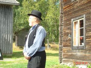 Berättaren Lennart Bjermkvist.