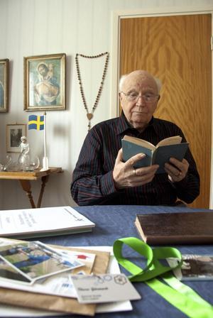 Scouting och nykterhet, hörnpelare i Thore Gårmarks liv.