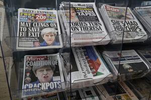 Tidningarna var inte nådiga mot May.