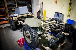 Med lite kärlek blir en Willys Jeep från 1945 som ny.