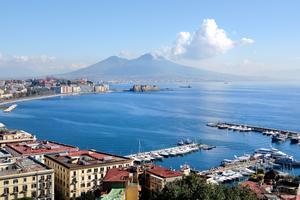 I Neapel bor man mest prisvärt i Italien.