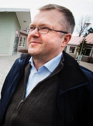 Peter Öster, tillfördordnad klubbdirekör i SSK.