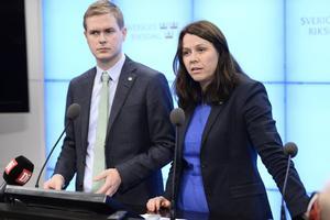 Gustaf Fridolin och Åsa Romson.
