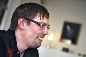 Ola Engman, vd för reklambyrån Ohappa i Sörforsa