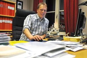 Kommunalrådet Abbe Ronsten (S) konstaterar att Säters kommun står inför lokalinvesteringar i mångmiljonklassen.
