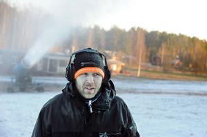 Magnus Andersson, backansvarig.