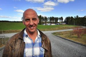 """""""Utvecklingsarbetet är klart och provkörningarna avslutade så nu gäller det att sjösätta projektet"""", säger Jan Eriksson, innovatör och grundare av Flexiwaggon. Foto: Stefan Nilsson"""