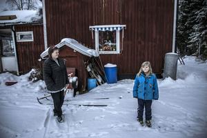 Det finns gott om utrymme för familj och barn i Grenåskilen.
