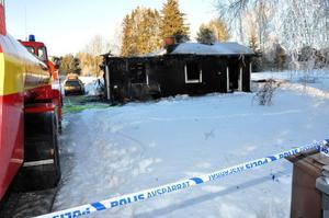 I januari i fjol omkom en kvinna i en brand i Furudal.