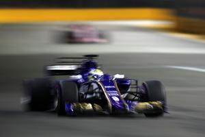 Marcus Ericsson hade många svåra problem under loppet i Singapore.