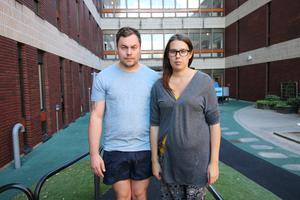 Robin Jonsson och Ida Stefanssons minns förlossningen som ett kaos av tankar och oro.