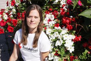 Camilla Andersson Bonnevier gick med i Röda korsets ungdomsförbund för att göra skillnad i världen.