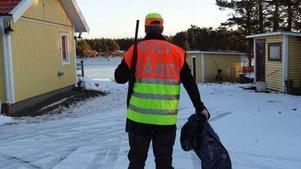 The EndSegelviksvägen 103, juldagen 2011Hans Fryklund