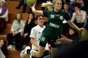 Ida Näslund gjorde nio mål och var Härnösands klart bästa spelare i mötet mot Kroppskultur.