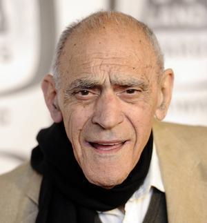 Den amerikanske skådespelaren Abe Vigoda avled på tisdagen, 94 år gammal. Arkivbild.