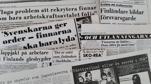 Rubrikerna om den finska invandringen var på 1960- och 70-talet hätsk. Andra generationens sverigefinländare ger nu ut en antologi där man får läsa om en annan sida av den finska invandringen.