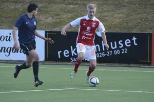 Sandvikens Marcus Hägg har gjort 17 av lagets 45 mål.