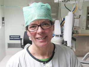 Anna Warg, kirurg och områdeschef för kirurgi, ögon och öron på Östersunds sjukhus.