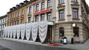 Hotel Baltics glasveranda uppmärksammas i svensk och utländsk branschpress.