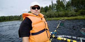Kommunlimnolog Tommy Vestersund menar att Bollnäsströmmarna skulle kunna bli helt fantastiska fiskevatten.