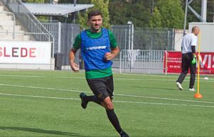 Ilir Berisha har gjort sitt första träningspass med VSK Fotboll.