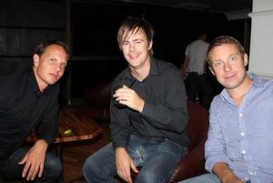 Blue Moon Bar. Daniel, Mats och Daniel