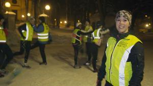 Malin Michaelsen, tog B.A.B.Y runners till Fagersta och intresset för att springa tillsammans håller i sig.