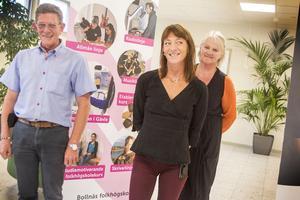 Nu gör Frasse Eriksson, Annica Wallenborg och Ann Jonsson entré med folkhögskolefilial i Söderhamn.