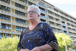 Karin Lidén från Österforse är både ledsen och upprörd över de förändringa som sker vid Sollefteå sjukhus.