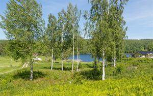 Utsikten över Långsjön.