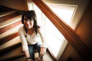 Cassandra Nilsson var i Svenstavik i går för att berätta om hur hon fått hjälp av Navigator.