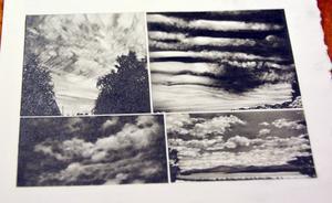 Cecilia Hultmans teckningar är fotografiskt delikata.