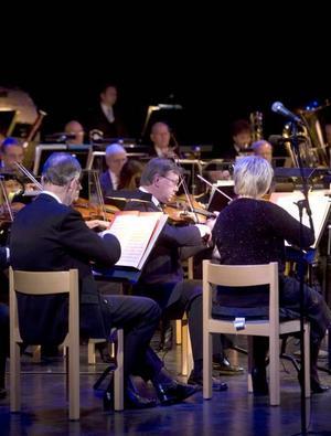 Jubileumskonsert. Sandvikens symfoniorkester bjöd på den musik orkestern spelat under de gångna 75 åren.