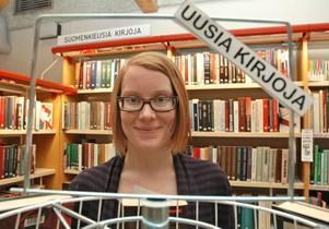 FINSK INFORMATÖR. Eeva Östberg har anställts som finsk informatör i Älvkarleby kommun. Hon ska kartlägga vilka behov det finns av finskspråkig verksamhet.