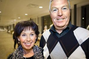 Bodil och Khen Lindberg från Örebro.l