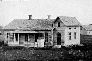 Logen Lyran Lyransgården 1916.Foto: Jamtlis arkiv