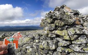 1 195 meter över havet med en enorm utsikt från Sömlinghågnas topp. Foto: Mikael Forslund