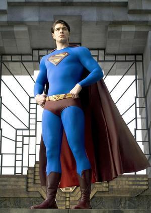 Bara på låtsas. Brandon Routh fick axla Stålmannens mantel i filmen Superman returns från 2006. foto: scanpix