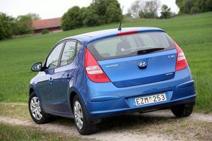 Rymlig, prisvärd och miljöbilsmärkt. Nya Hyundai i30 går nu att få med en dieselmotor som klarar de tuffaste miljökraven.Foto: Rolf Gildenlöw