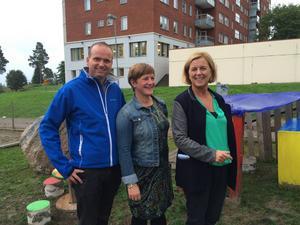 I går presenterade kommunpolitikerna Lars Persson, Annelie Luthman och jämställdhetsminister Maria Arnholm (FP) en satsning på karriärtjänster för förskollärare i Sundsvall.