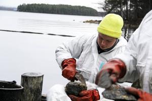 Nils Schönning ska inleda operation oljeinspektion så fort snön smält.