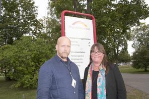 Jürgen Büttner och Maria Beiron konstaterar att Migrationsverket har god kontroll på situationen.