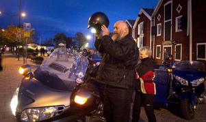 Ulf Hansson är en av initiativtagarna till Silverbullet, en lättillgänglig aktivitet för mc-åkare.