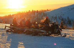 Denna bild är tagen i  Åkersjön, uppe på Önrun i december 2015.  Foto: Christian Stålhandske