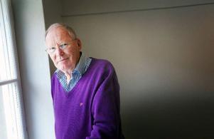 """""""Jag har glädje av att vara efterfrågad och ianspråktagen"""", säger Anders Rasmusson, vars arbete för Konstens vecka prisas av alla inblandade.Foto: Håkan Luthman"""