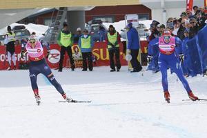 Ida Ingemarsdotter, initiativtagare till supersprinten, får stryk av Stina Nilsson i Ramundberget 2014. Stina Nilsson kommer inte till start i år men Ida Ingemarsdotter får räkna med tuff konkurrens från andra åkare.