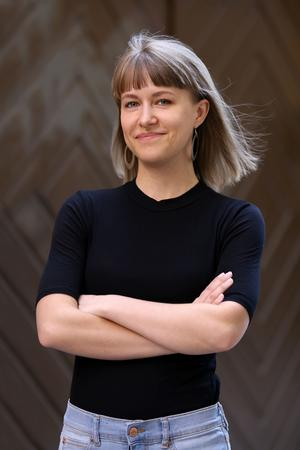 Kristina Wicksell, pressansvarig för Jämställd festival och ordförande i Hudik mot rasism.