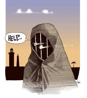 Kvinnor borde själva få välja om man vill bära slöja eller inte. I många länder är så inte fallet.
